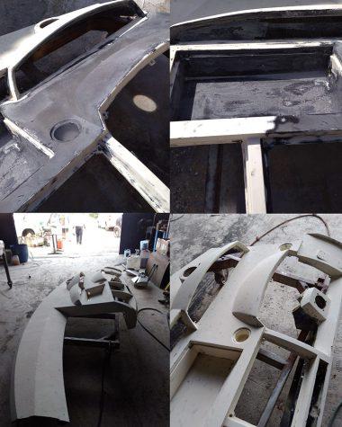 Καθαρισμός κονσόλας οργάνων σκάφους
